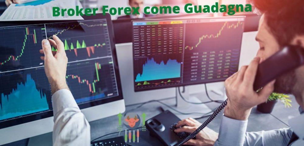 Broker Forex come Guadagna