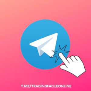 Banner Telegram di Trading facile