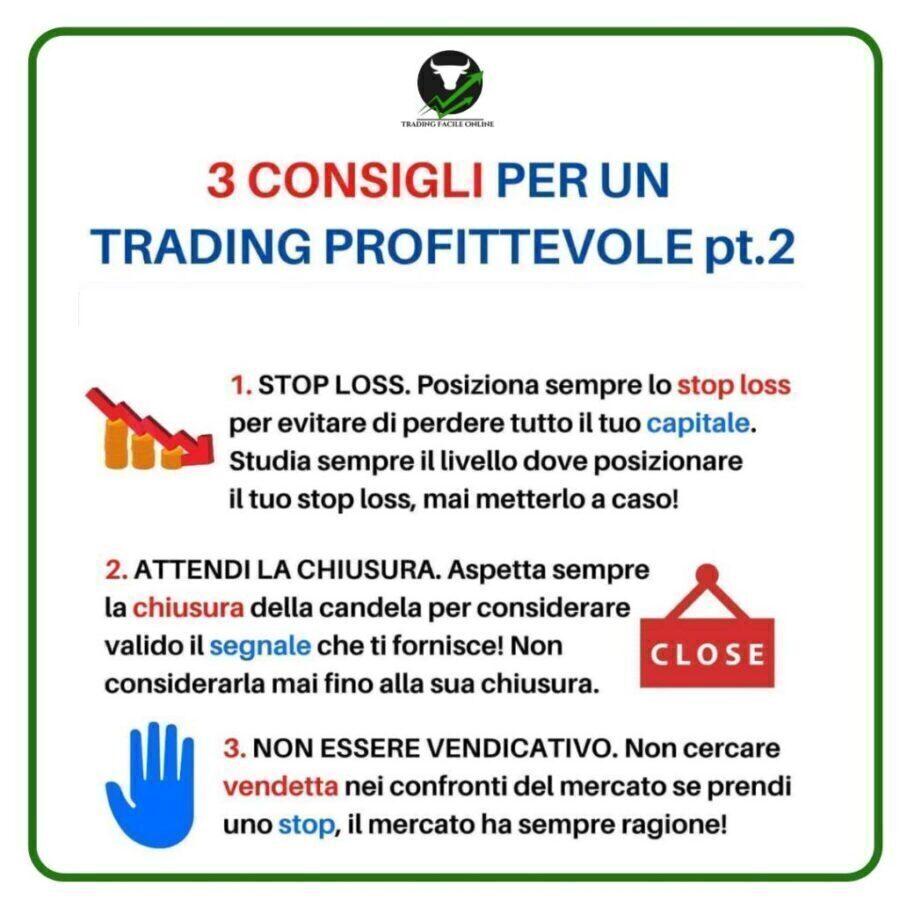 segnali di trading e consigli