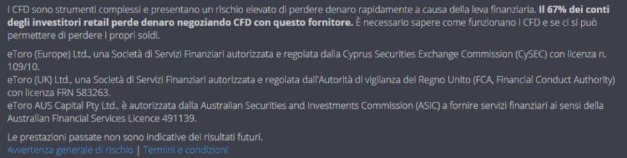 copy traders regolamentazione etoro